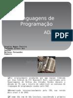 Linguagens de Programação- ADA