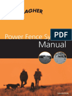 Gallagher Electric Fence Manual