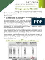 2011-5-16 Lederer PWM Portfolio Strategy Update