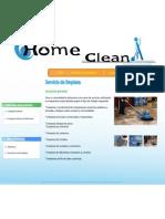 Home Clean - Servicios_generales