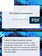 The Great Commission Part 2