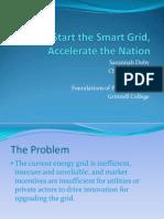 Savannah Duby Chelsea Pestana - Smart Grid Presentation