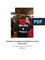 Patricio Zamorano Honduras Report May 2011 Spanish Version