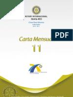 Carta Mensual 11-Mayo 2011