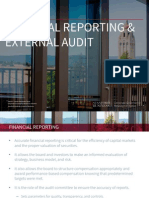 10.  Financial Reporting and External Audit - Quick Guide Series