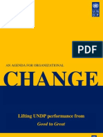 An Agenda for Organizational Change