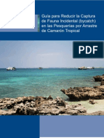 Guía para Reducir la Captura de Fauna Incidental en las Pesquerías por Arrastre de Camarón Tropical