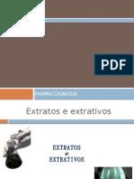 Processos extrativos e de separação de metabólitos secundários