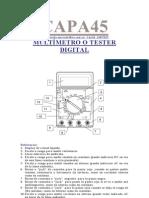 F-multimetro o Tester Digital