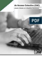 Centros de Acceso Colectivo a las TICs impulsados desde el Estado en República Dominicana