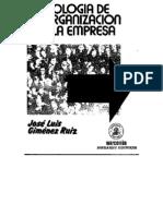 8224157 Sociologia de La Organizacion