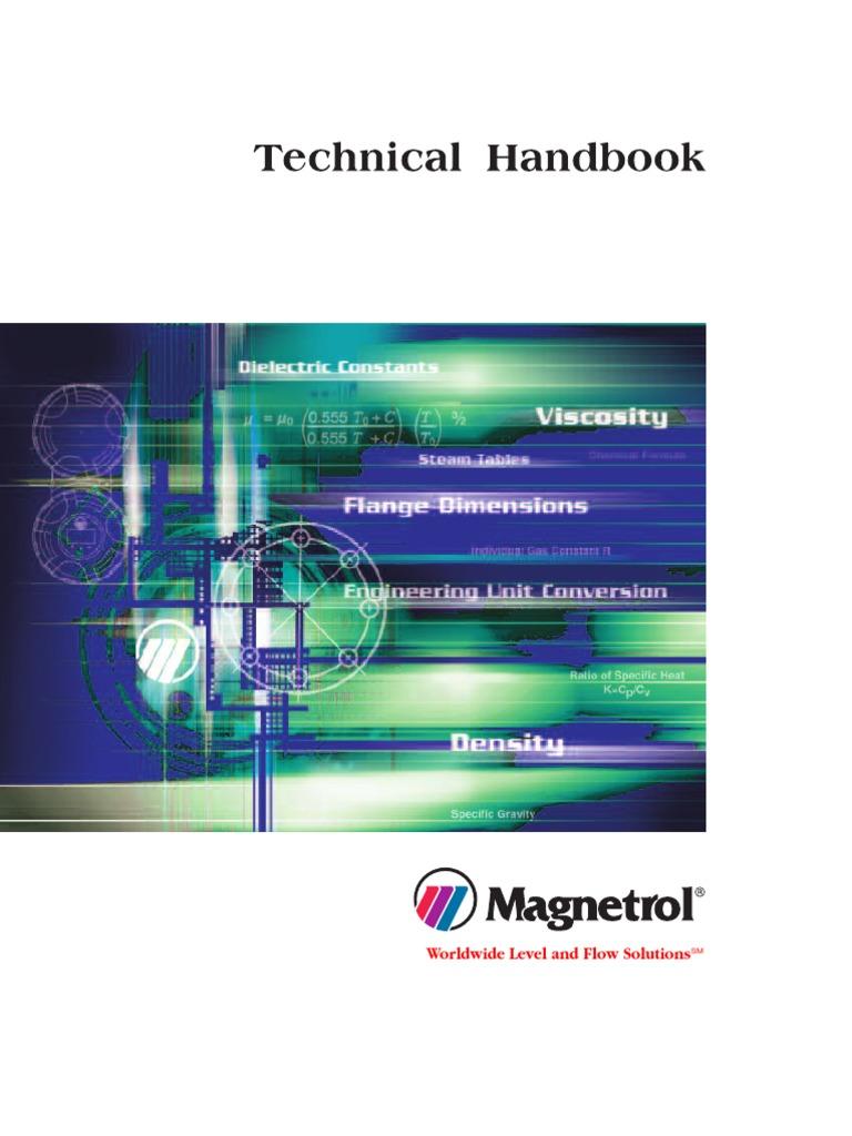 Technical Handbook - Magnetrol | Fahrenheit | Scientific ... on