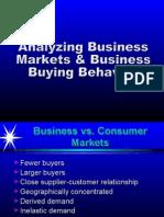 Consumer Buyng vs Ind Buying