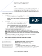 Handout on Planning and Designing