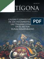 Causas y consecuencias de los megaproyectos y las trasnacionales en el sector rural colombiano