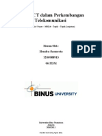 Paper_Peranan ICT Dalam Dunia Telekomunikasi Indonesia_Hendra Sasmerta
