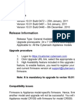 Cyberoam v 10.01 Build 0472