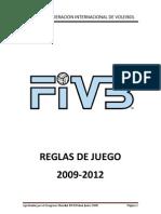 REGLAMENTO FIVB VOLEIBOL 2009 - 2012