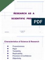 Research as a Scientific Process 2