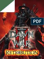 Dawn of War II - Retribution Manual_AU