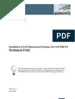 SAP Enhancement Package 4 for SAP ERP 6.0 - Technical FAQ