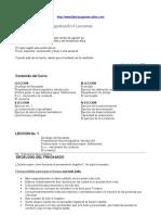 Curso Programacion PNL en 4 Lecciones
