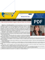 10-05-11 Si habra periodo extraordinario asegura la diputada federal Paula Hernandez Olmos