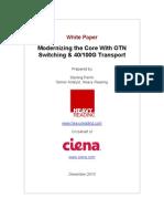 Ciena Core Modernization WP