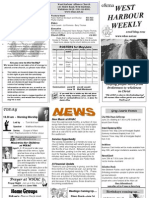 WHAC newsletter for 2011.05.22