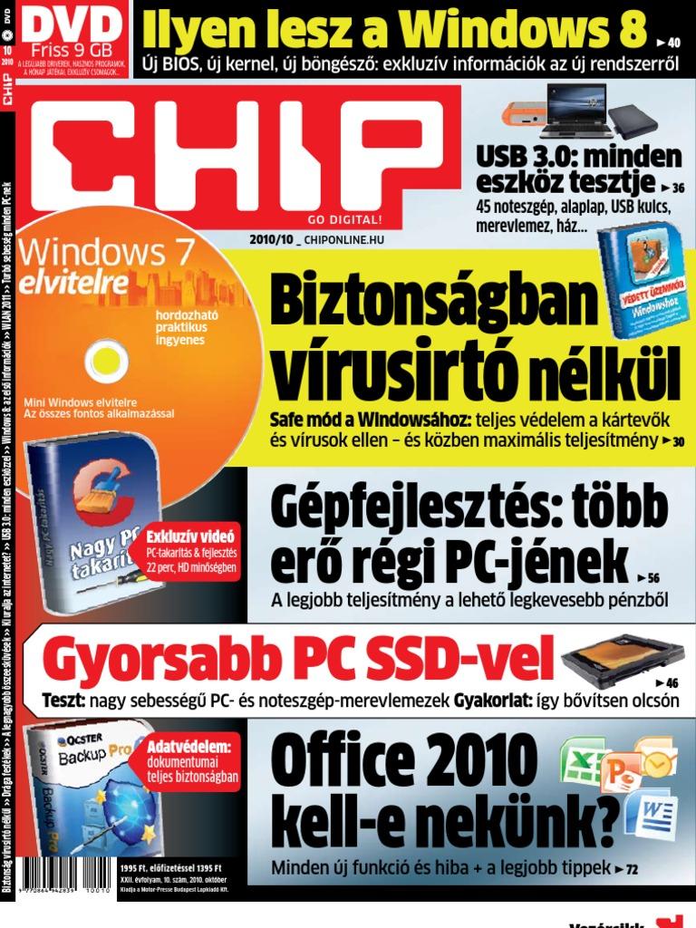 unix naptár 2010 Chip 2010 10 unix naptár 2010