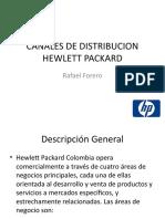 Canales de Distribucion Hewlett Packard
