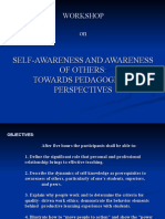 Self-Awareness and Awareness of Others (1)