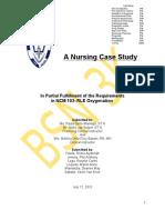 39591443 a Case Study on Chronic Kidney Disease