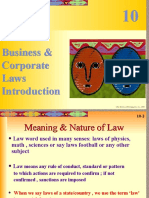 Business Law - Intro & Contract Act-1
