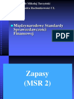 Wybrane MSR dr Mikołaj Turzyński