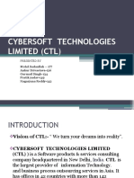 Cybersoft Technologies Limited (Ctl)