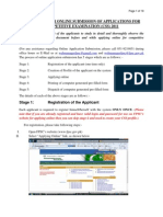 Guidelines for Online Submission Force 2011