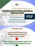 Regionalisasi Sistem Rujukan RS Di Sulsel