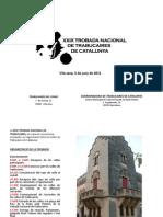 XXIX Trobada Nacional de Trabucaires de Catalunya
