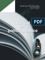 Manual Politici Publice IPP