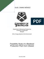 Biodiesel Feasibility