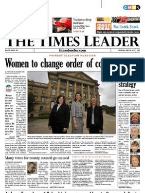 Times Leader 05 19 2011 Wilkes Barre Luzerne County