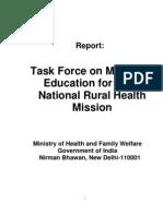 Task Group on Medical Education