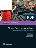 Africa's Power Infrastructure