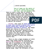 Child Abuse~Mid 2000 Muet