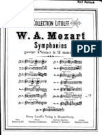 Mozart Symphony No.25 Piano