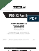 POD X3 Advanced Guide (Rev E) - English