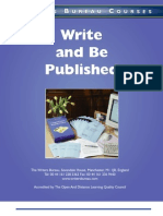 Write and Be Published WBC