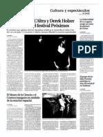 La Opinión. 19 de mayo de 2011