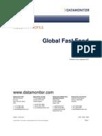 Data Monitor Fast Food